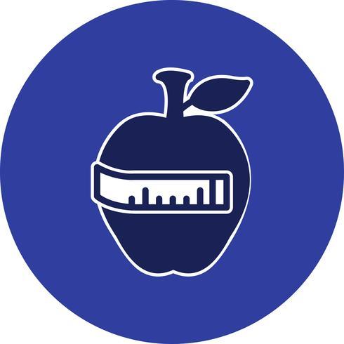Vektor-Diät-Symbol