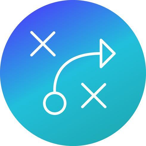 Tactiek Vector Icon