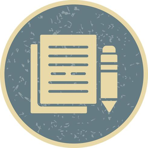 icône de vecteur de documentation