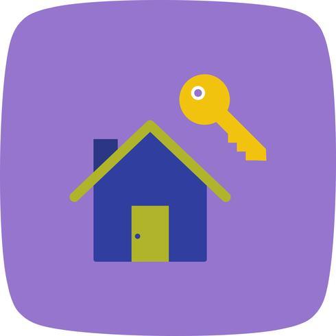 Casa chave Vector ícone