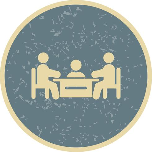 Vergadering Vector Icon