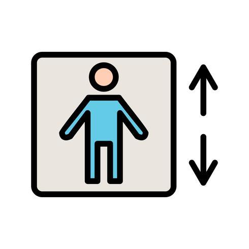 Levante o ícone do vetor