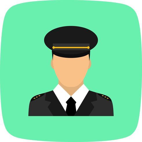 Luitenant Vector Icon