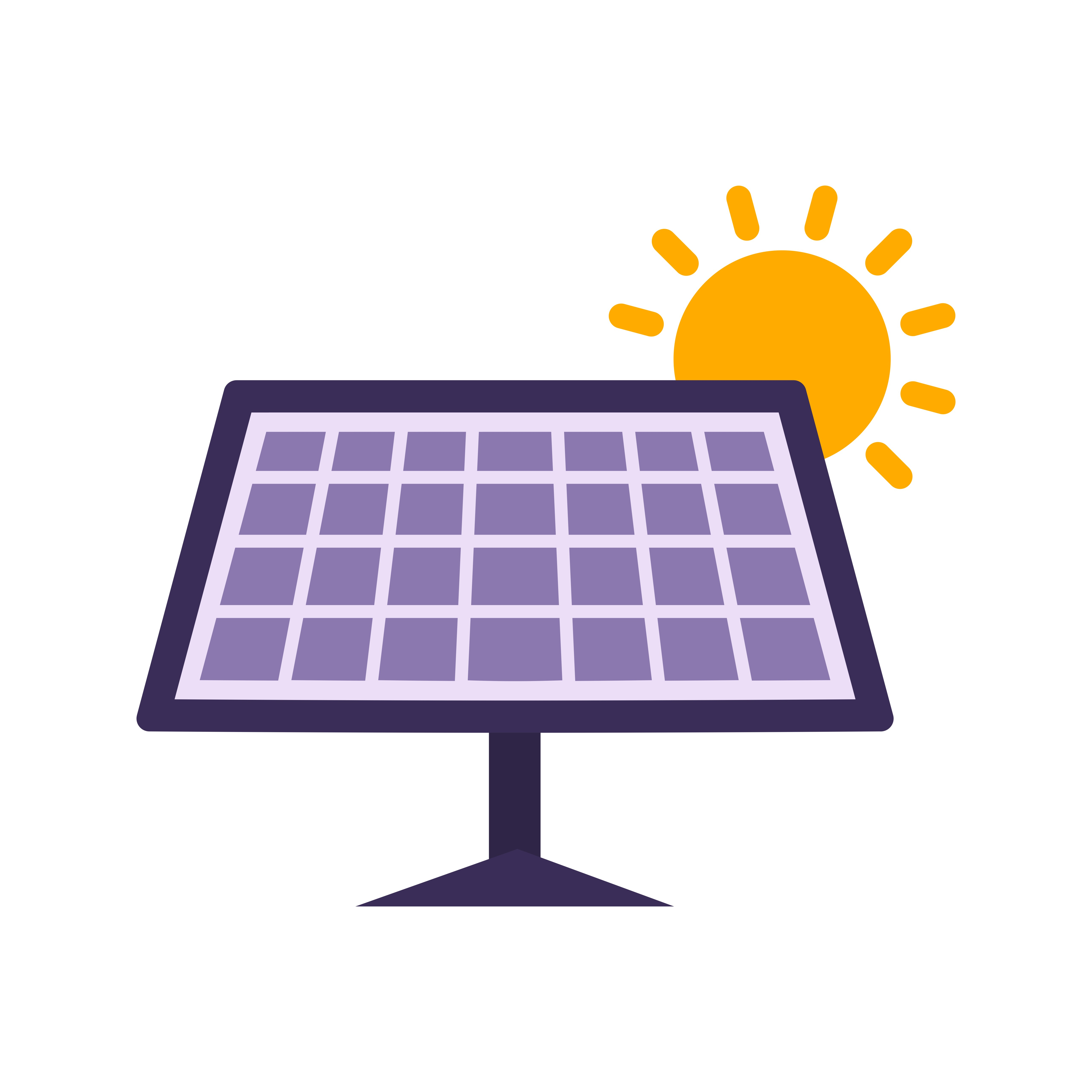 Solar Panel Vector Icon Download Free Vector Art Stock