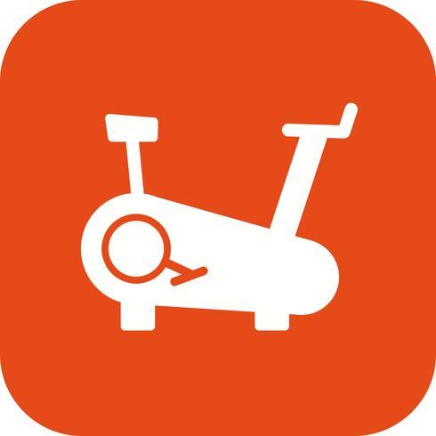 Icona di vettore in bicicletta