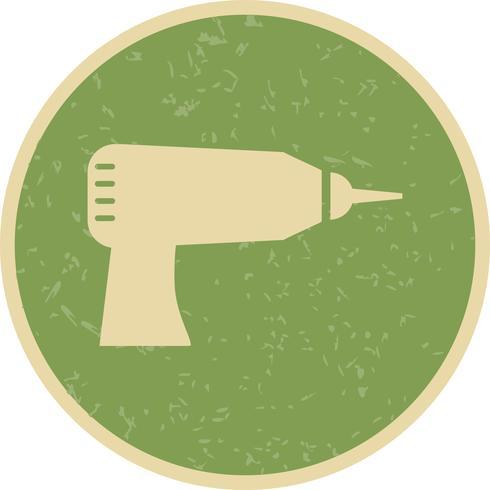 icône de vecteur de forage