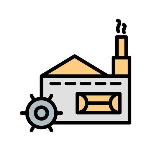 Icona di vettore del mulino