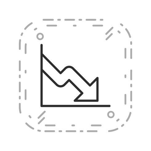 Business Fall Vektor Ikon