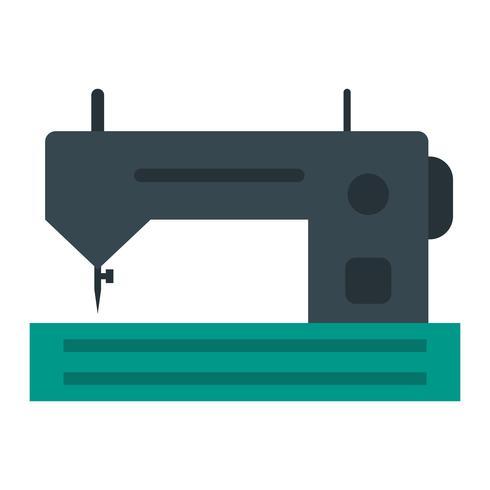 Icono de Vector de máquina de coser