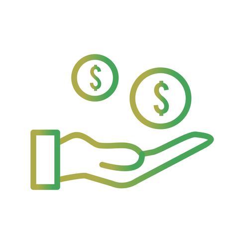 Vector pagamento ícone