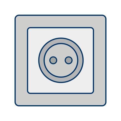 Icono de vector de zócalo