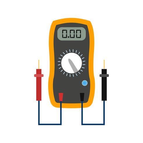 Voltmètre Vector Icon
