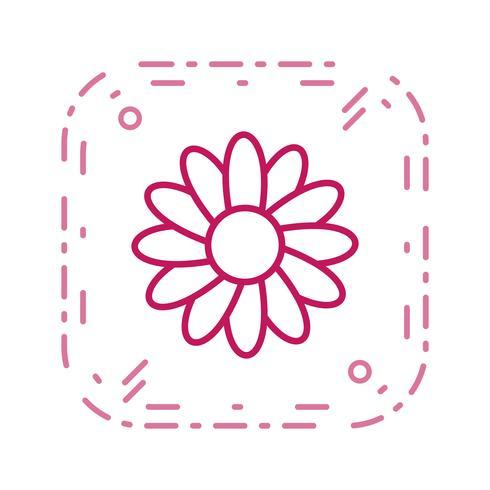 Icono de vector de margarita