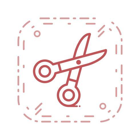 Vector schaar pictogram