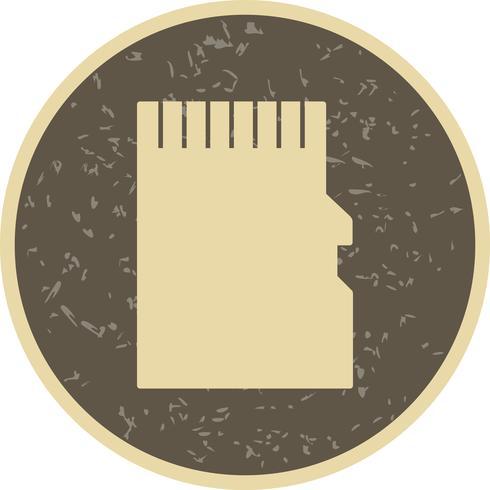 ikon för minneskortets vektor