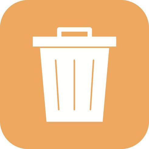 Icono de vector de residuos