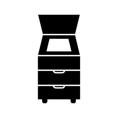 Icona di vettore dello scanner