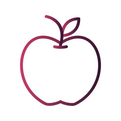 Icona di Apple vettoriale