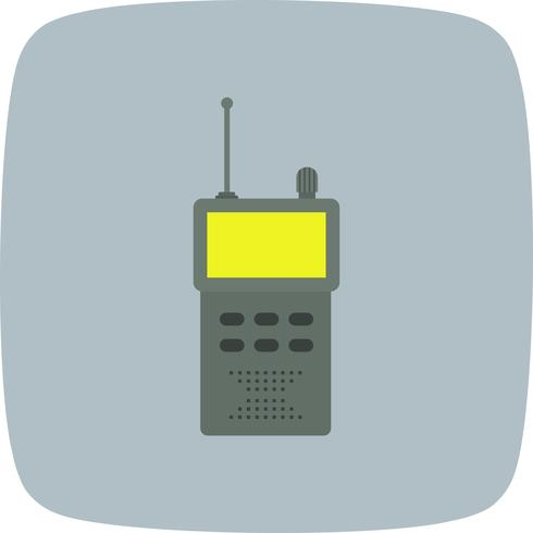 Icono de Vector de Walkie Talkie