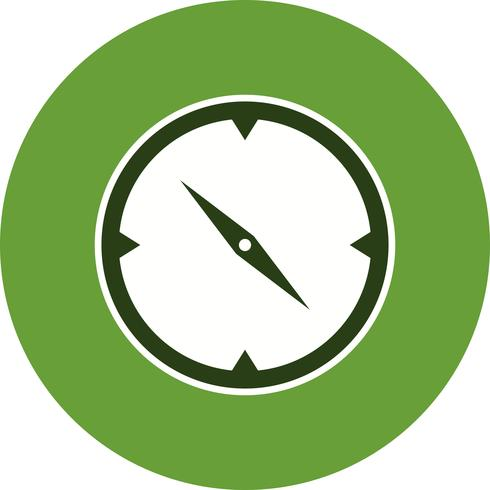 Brújula Vector icono
