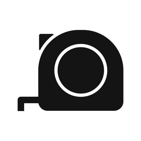 Ruban à mesurer Vector Icon