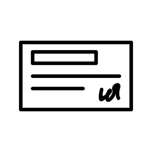 Icona di controllo vettoriale