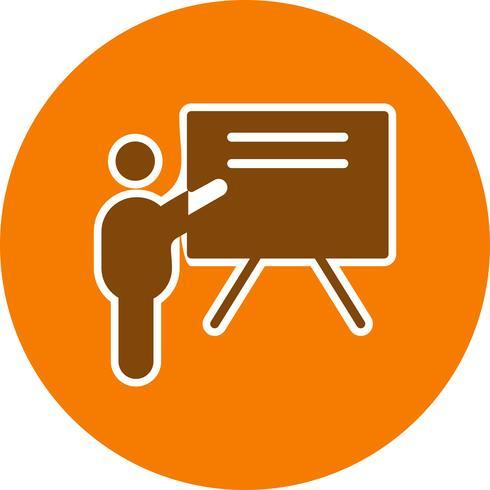 Icona di insegnamento vettoriale