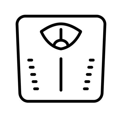 Vector Weight Machine Icon
