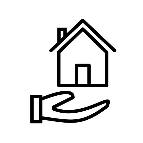 Hypothek Vektor Icon
