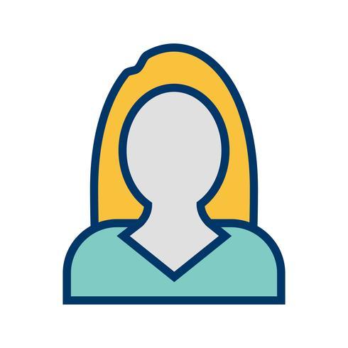 Icona di vettore di donne di affari