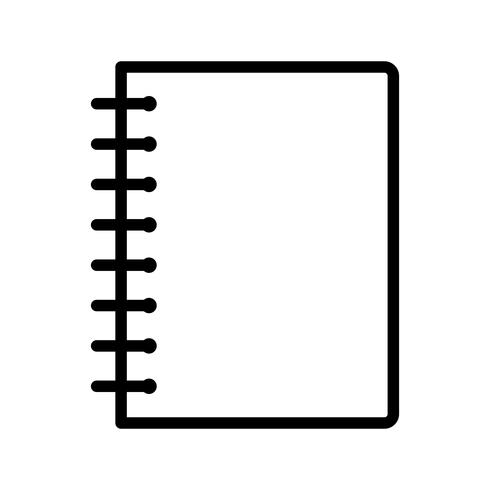 Vektor-Spiralblock-Symbol