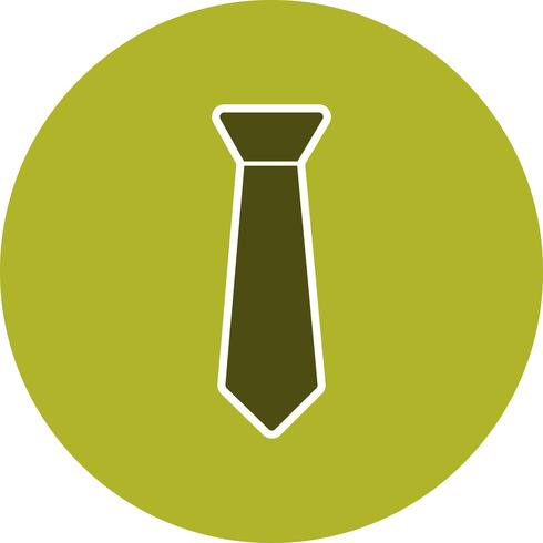 Icona di vettore di cravatta