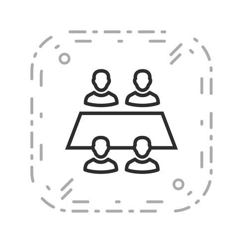 Icona di vettore del gruppo di lavoro