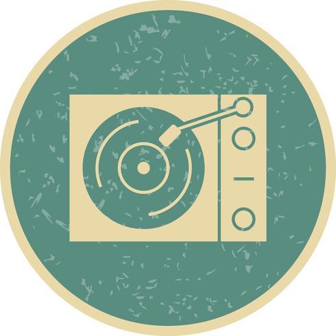 Vinyl speler Vector Icon