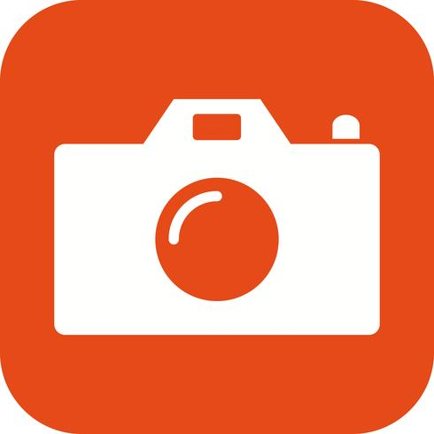 Icona di vettore della macchina fotografica