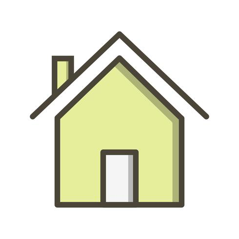Casa ícone Vector