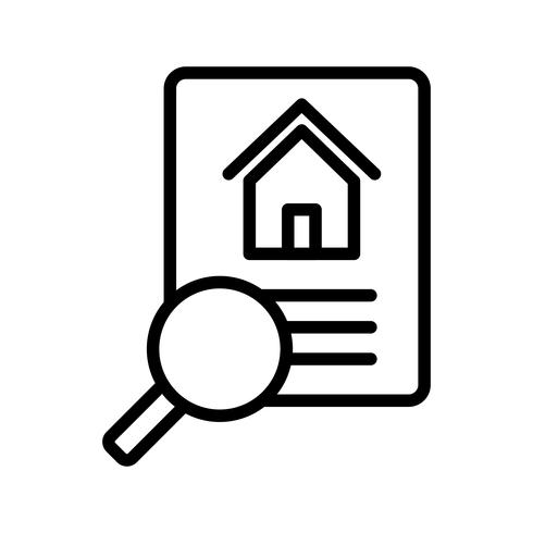 Property Search Vector Icon - Download Free Vector Art ...