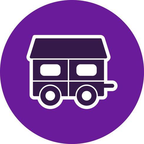 Icona di vettore della casa mobile
