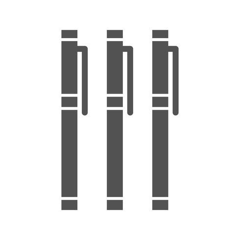 Icône de marqueurs de vecteur