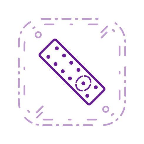 Ícone de vetor remoto