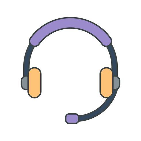 Vektor-Kundenservice-Symbol