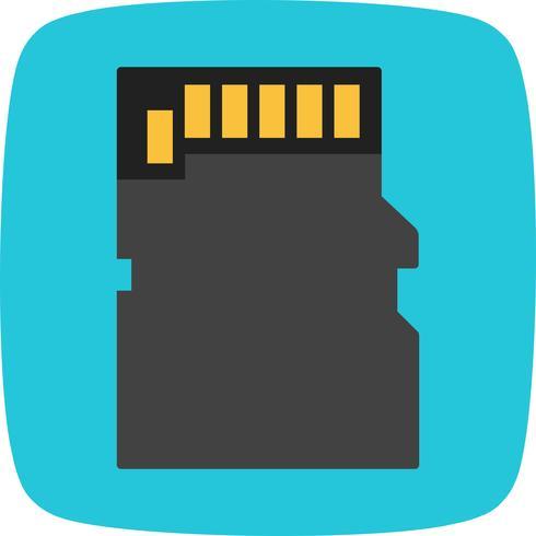 Speicherkarte Vektor Icon