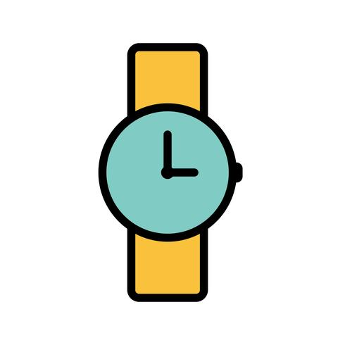 Watch Vector Icon
