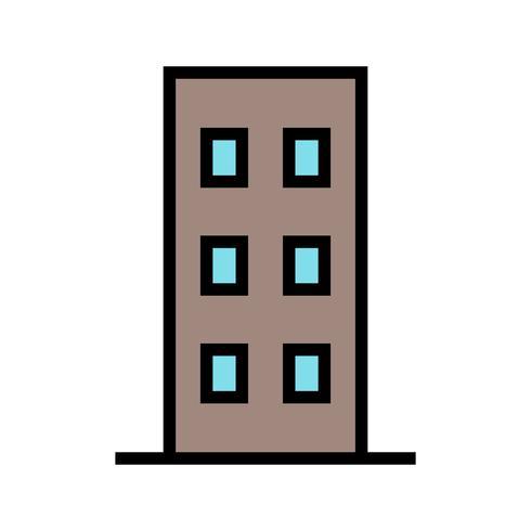 Platt vektor ikon