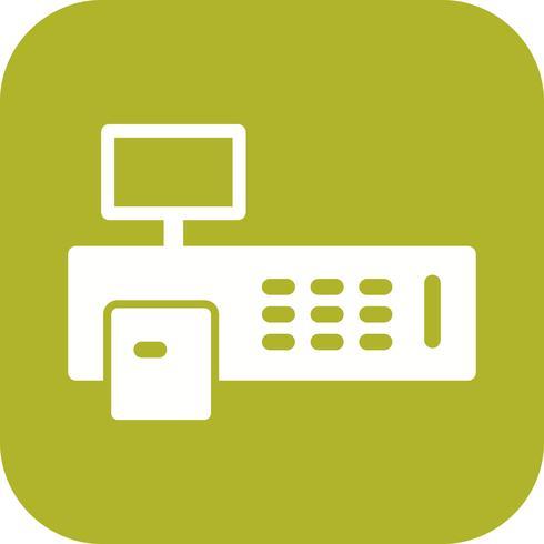 Billing Machine Vector Icon