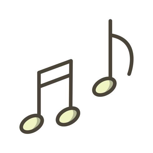 Vektor-Musik-Symbol