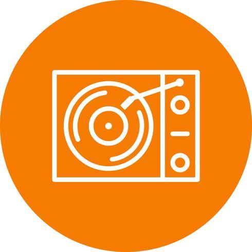 Vinyl player Vector Icon