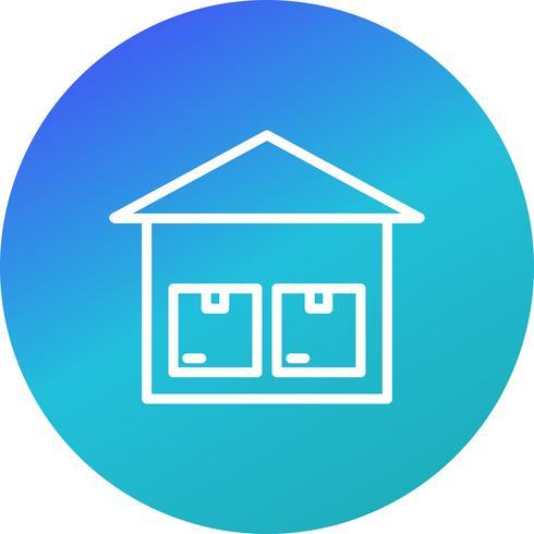 Vector Storage Unit Icon