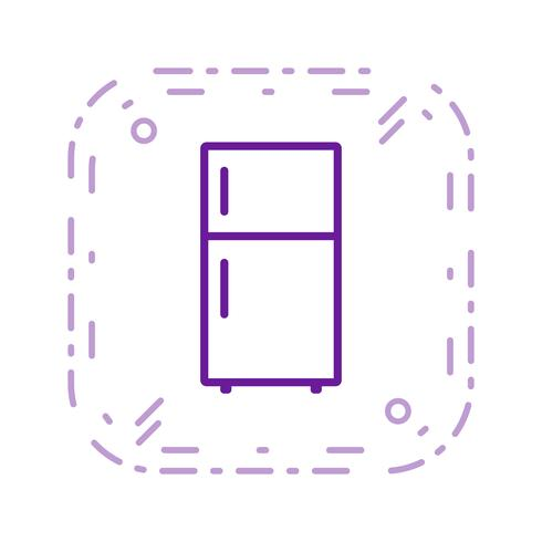 Fridge Vector Icon