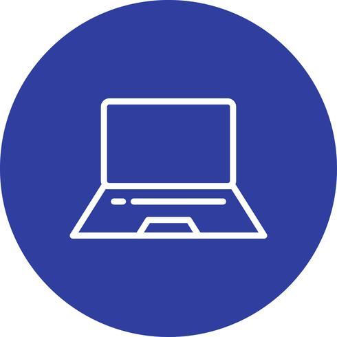 Vektor-Laptop-Symbol